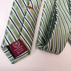 🔆 Chaps - NWT Silk Green Stripe Tie